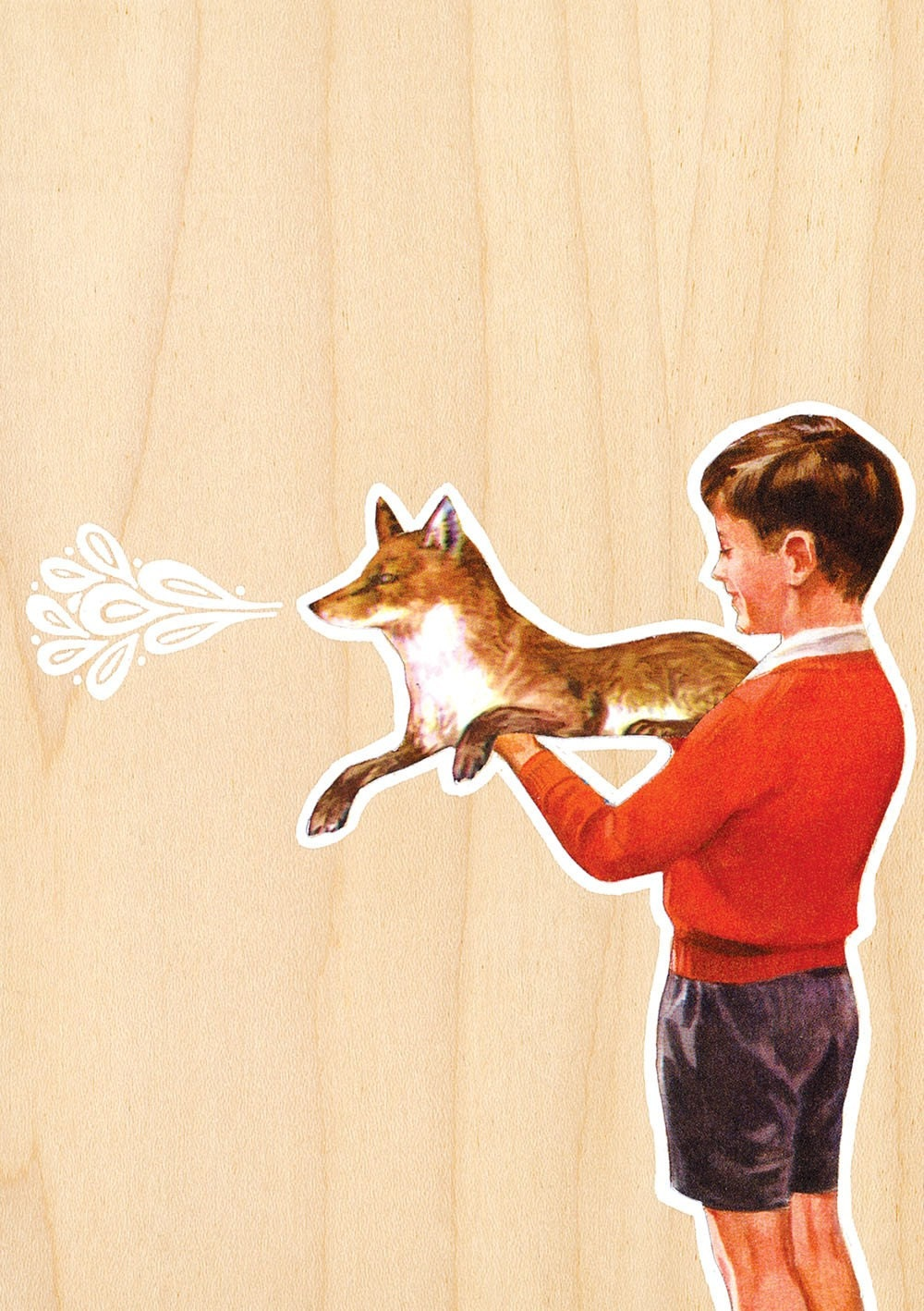 A Boy And His Fox - Limited Edition Print