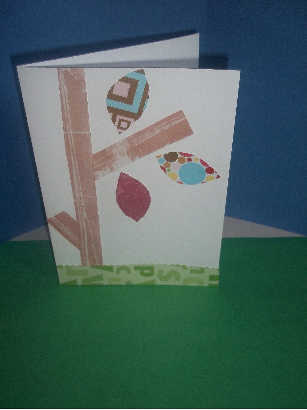 Natures greeting card from sassy style cards