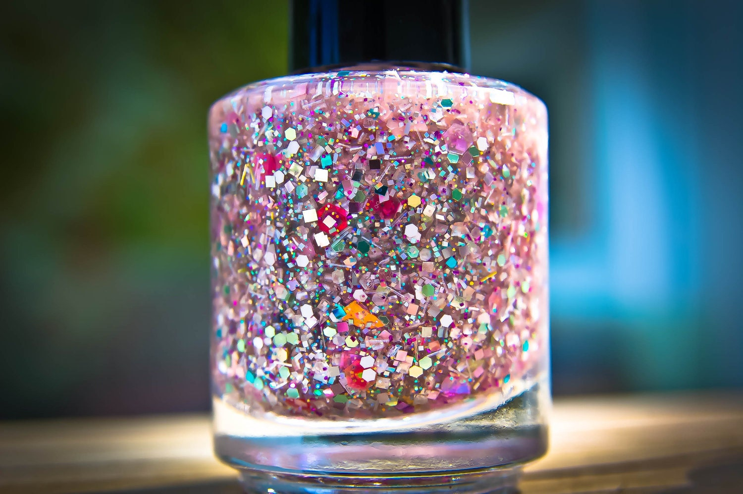 Looking Glass: Custom Blended, Glitter Nail Polish, Nail Lacquer