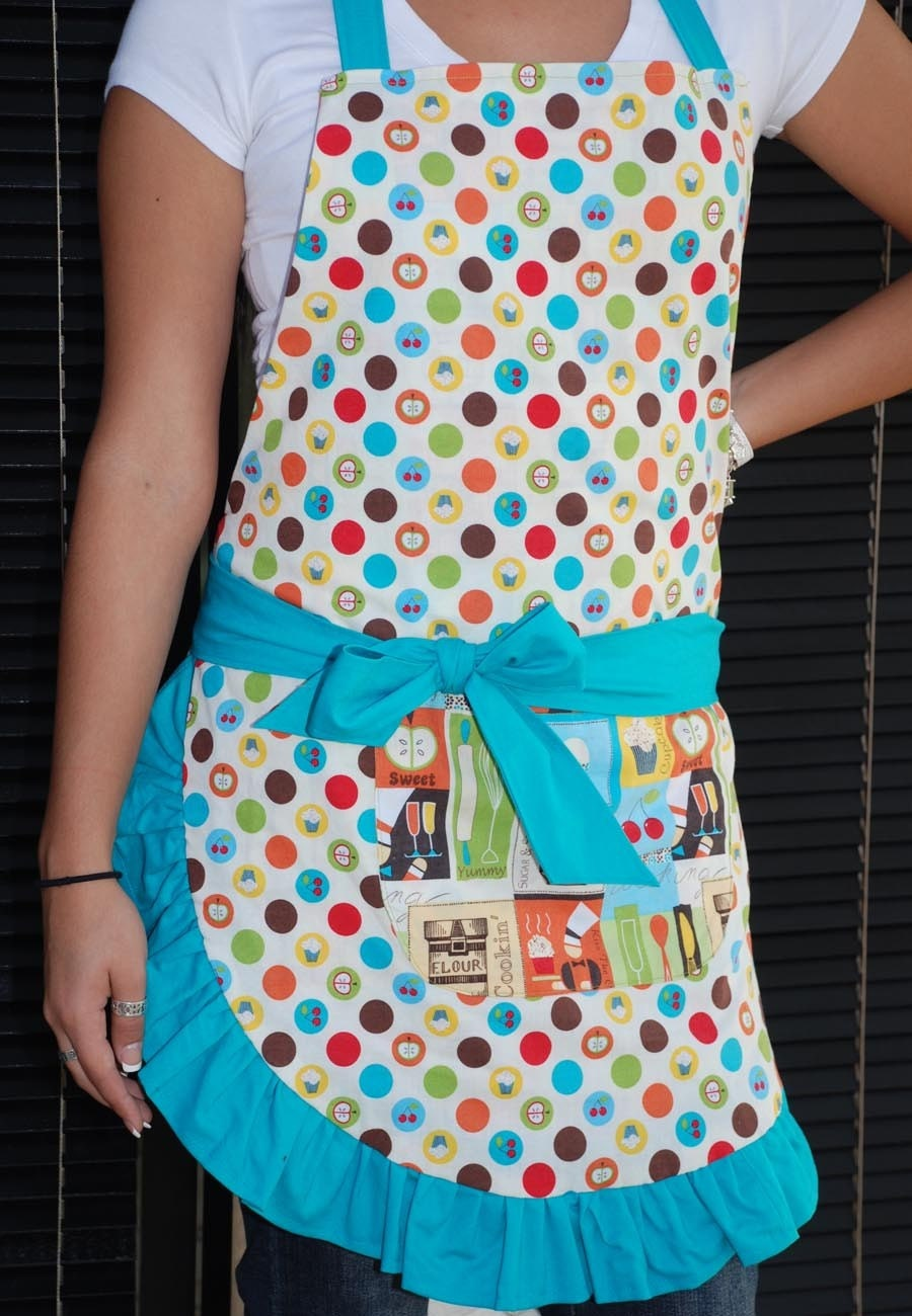 Women's Sweet Chef Reversible Apron