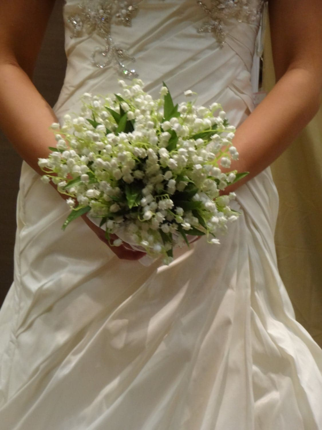 lily of the valley bridal bouquet by alwayselegantbridal