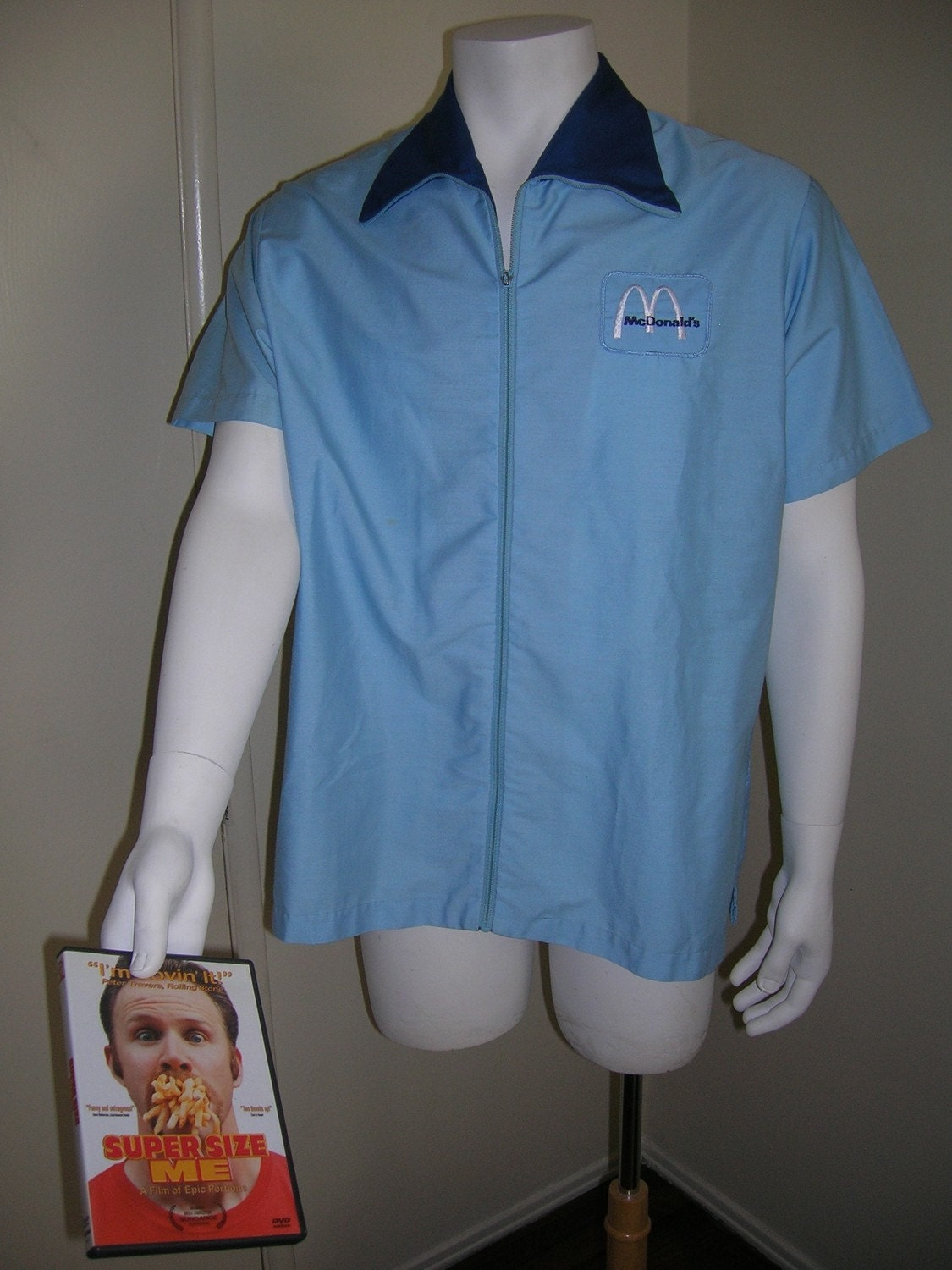 Items similar to vintage mcdonald 39 s uniform shirt only for Kmart shirts for employees