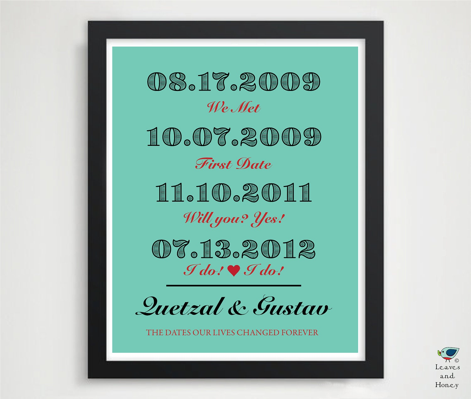 Custom 1st paper anniversary present father 39 s by for 1st year anniversary gifts for her