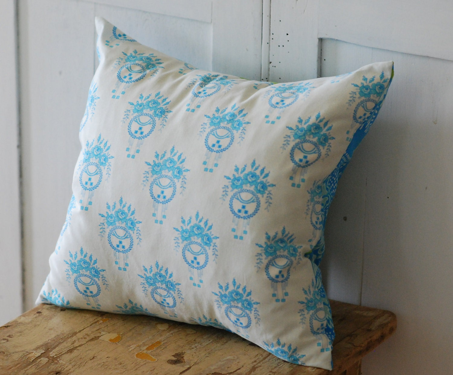 Shabby Chic Bed Pillows : Shabby Chic Pillow Cover Decorative Pillows by KenilworthPlace