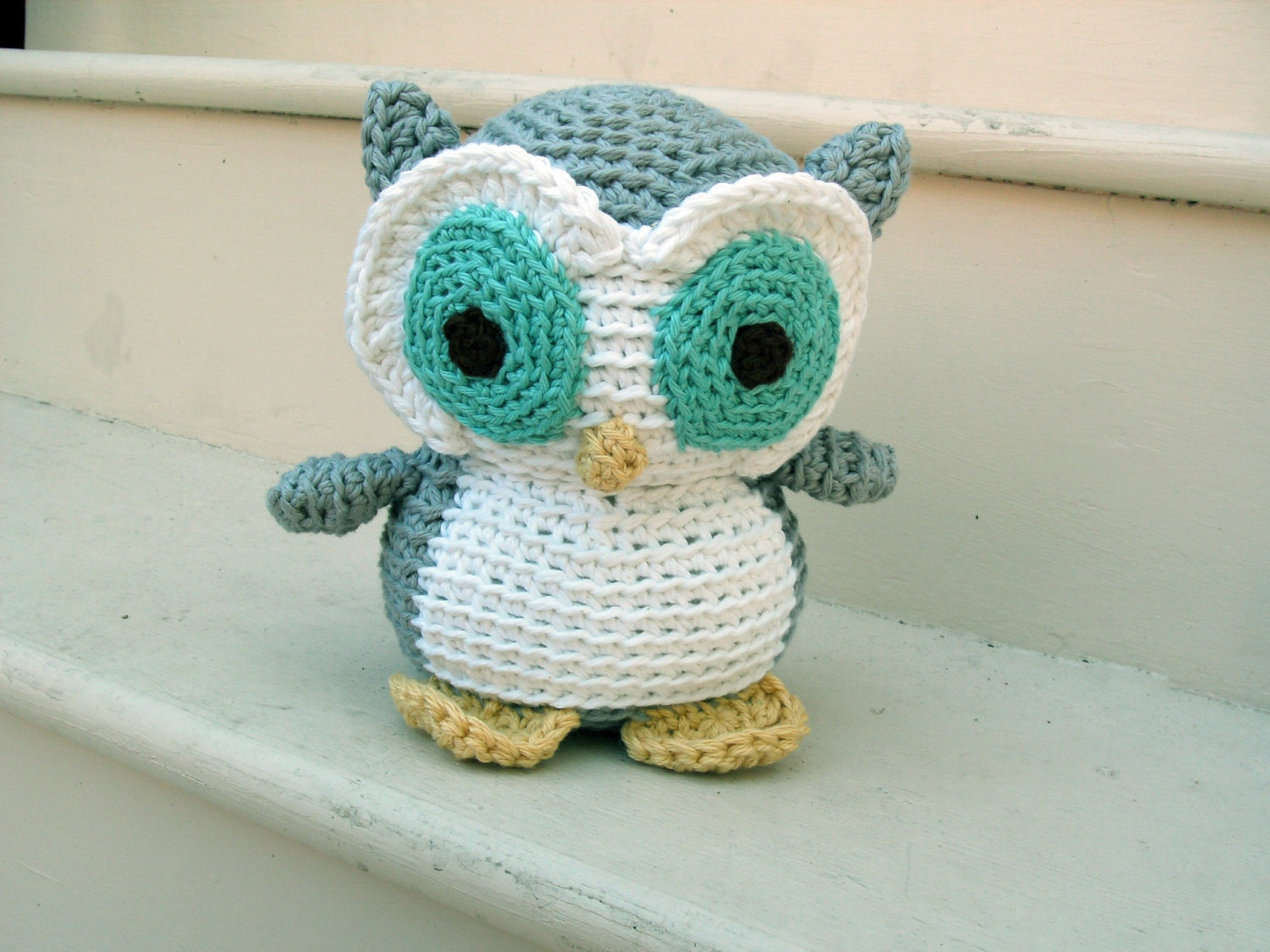 Owl Crochet Owl Stuffed Animal By Freshstitches On Etsy