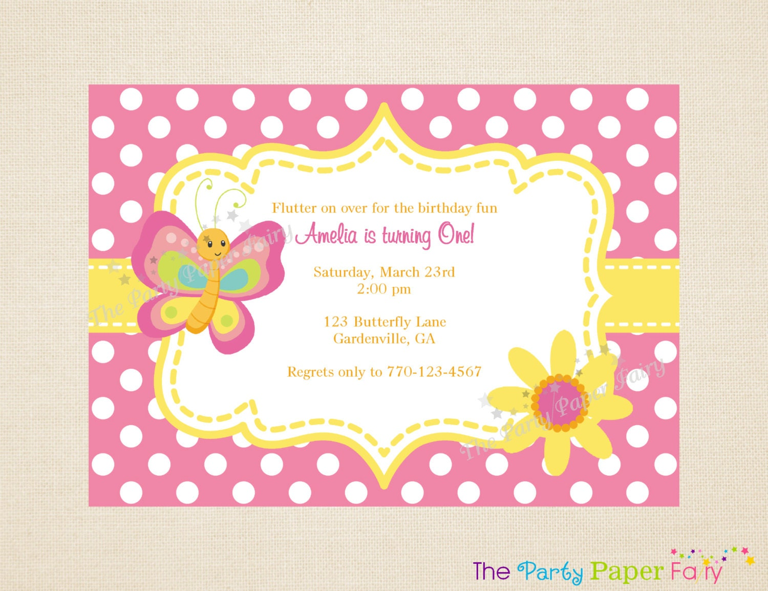 Butterfly birthday invitation templates free filmwisefo