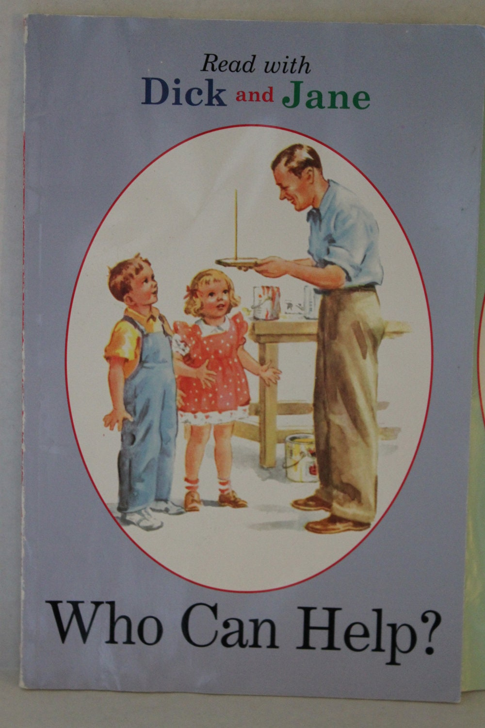 Vintage dick and jane Etsy