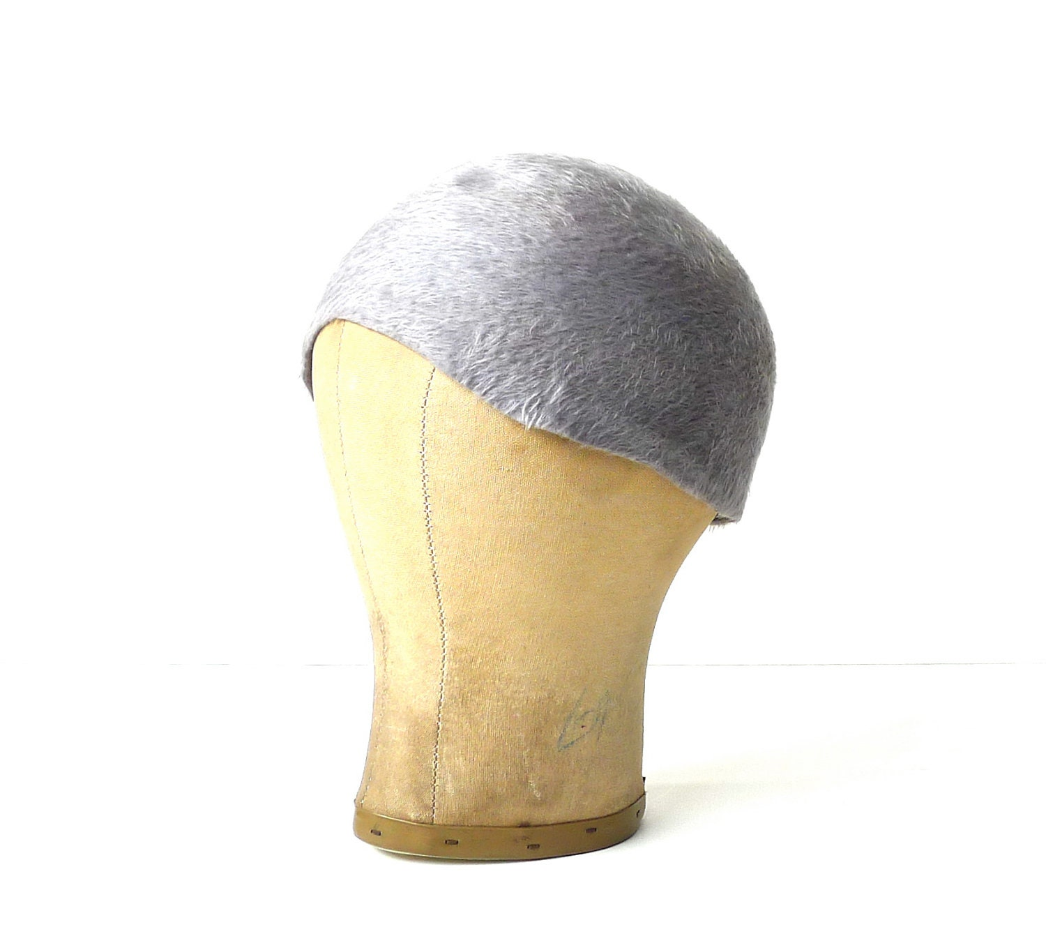 Vintage 1930s Pale Grey Hat - marybethhale