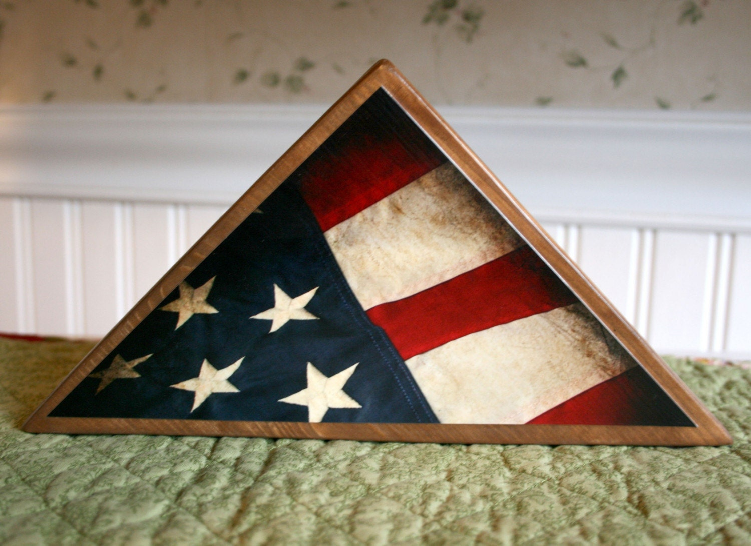 Patriot  Block for 4th of July, Memorial Day