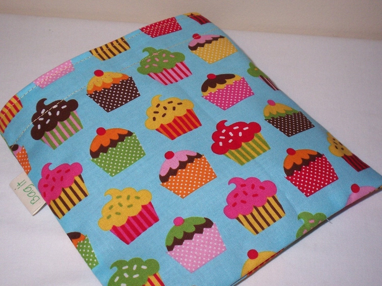 Reusable sandwich bag - Irresistible cupcakes