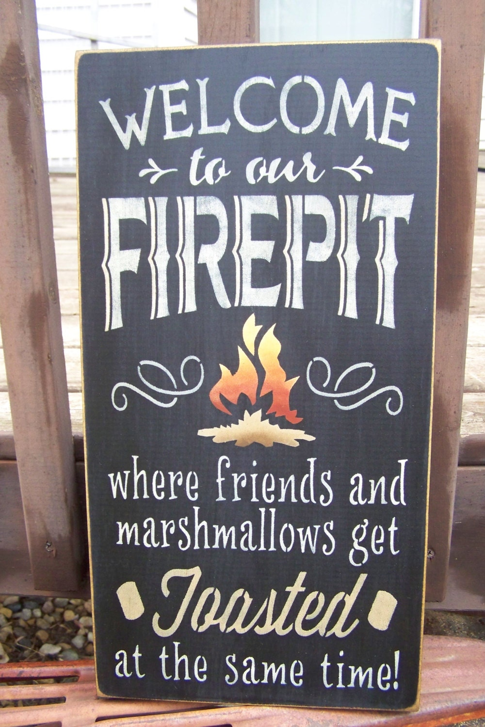 Funny Hand Painted Signs