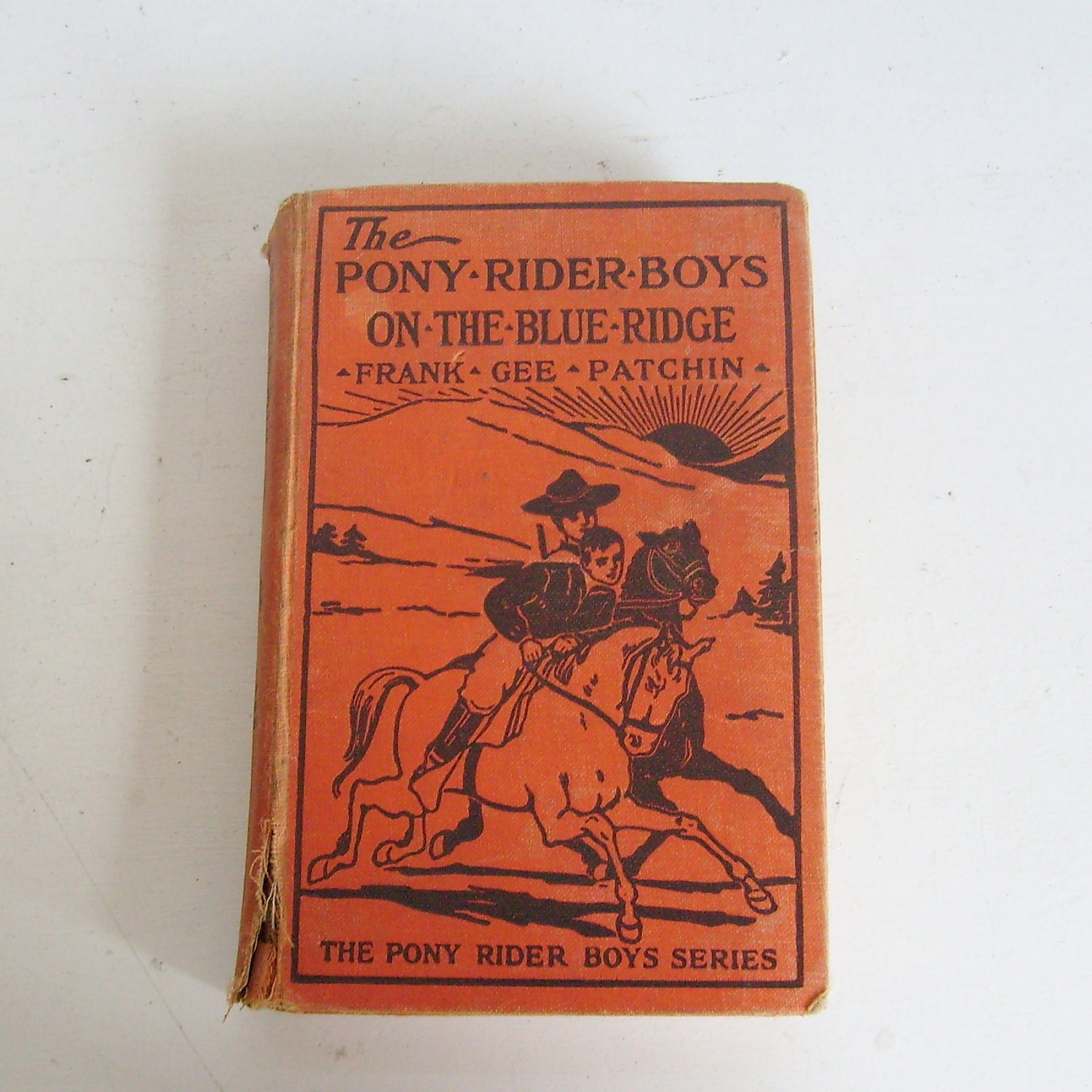 The Pony Rider Boys on the Blue Ridge or a Lucky Find in the Carolina Mountains Frank Gee Patchin