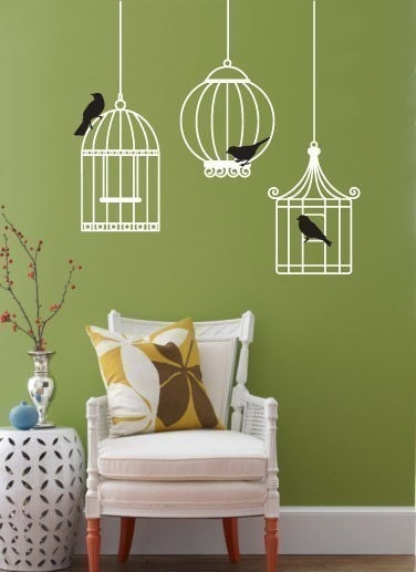 Vinyl Wall Sticker Decal Art - Just hanging out
