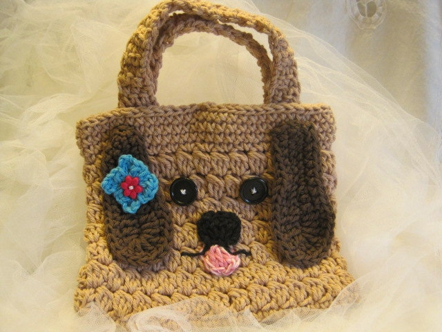 Crochet Purse For Child : Request a custom order and have something made just for you.