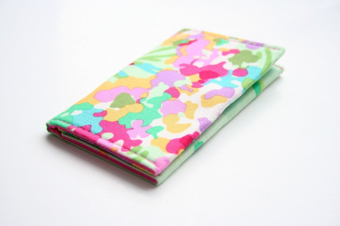 Mini Card Wallet - Amy Butler - Love
