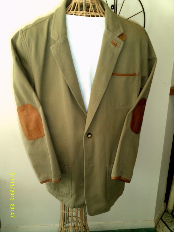 Mens vintage orvis khaki cotton twill by hannahsatticmt on for Orvis men s shirts tall