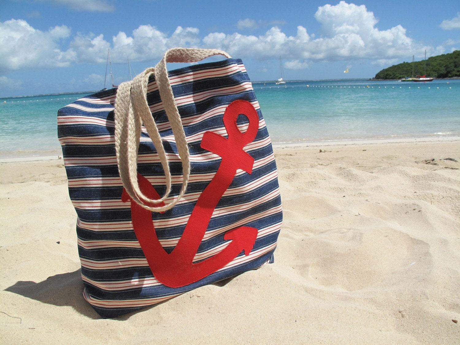 Anchor Beach Tote