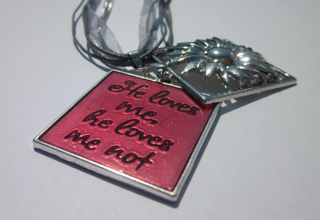 He Loves Me, He Loves Me Not Necklace