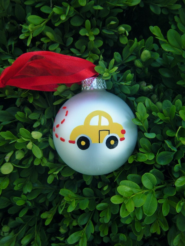 vw bug ornament.