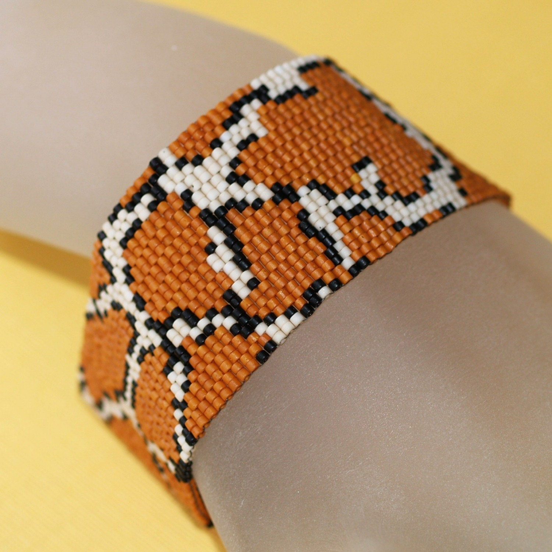Giraffe - Wild Peyote Bracelet (2930)