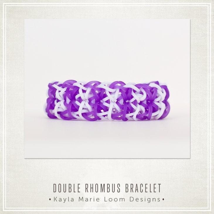 Rainbow Loom Double Rhombus Bracelet Party by ...