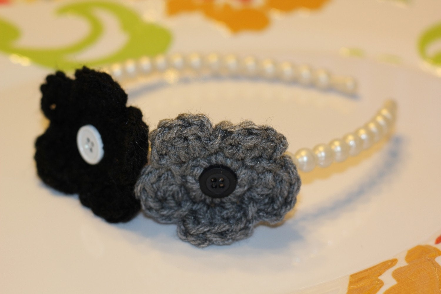 Little Girls Headband (or necklace) Classic & Cool