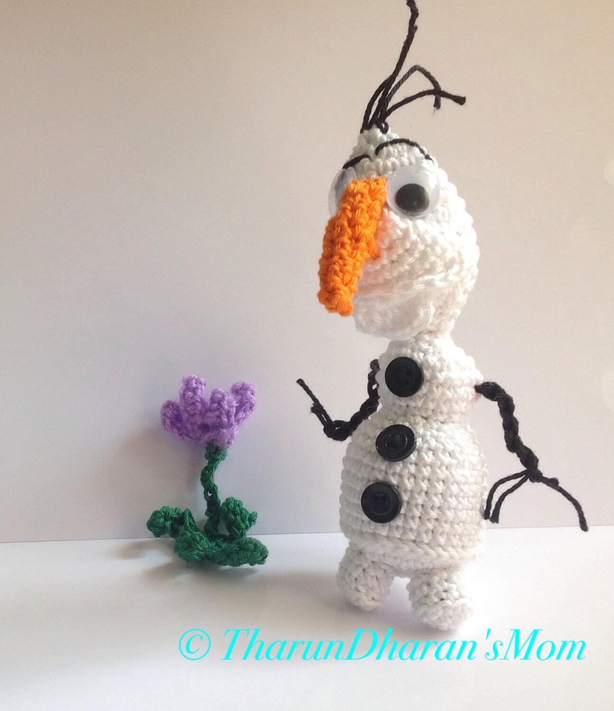 Amigurumi Olaf Tutorial : Snowman Amigurumi Crochet Pattern / PDF by TharunDharansMom