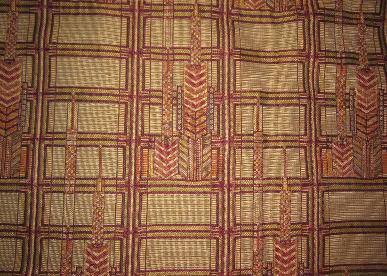 F Schumacher Frank Lloyd Wright Fabric By Whatsontheshelf