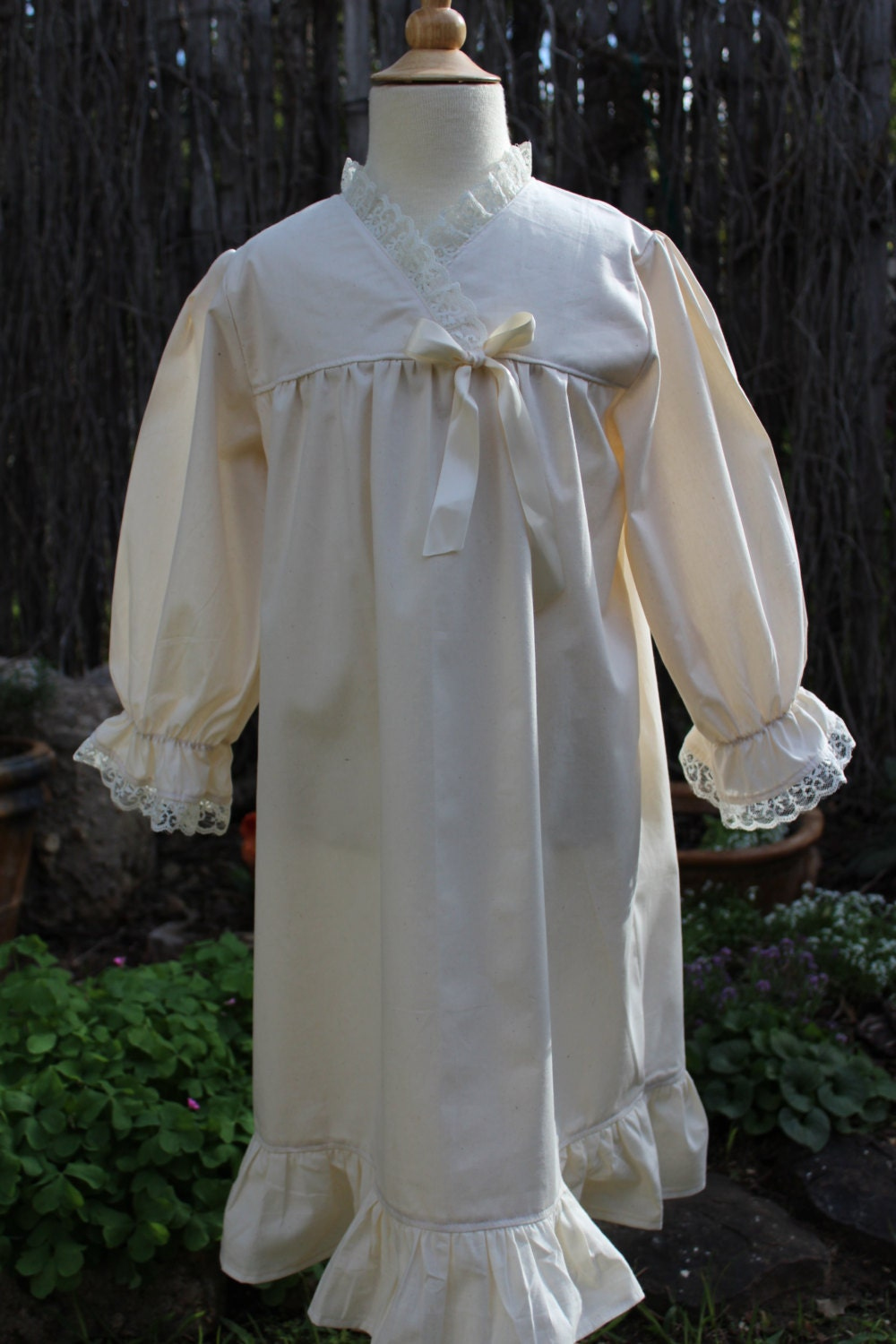Old Fashion Nightgown By Heartsandhome On Etsy