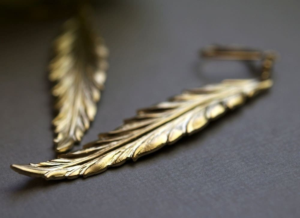 Icarus Earrings - Gold