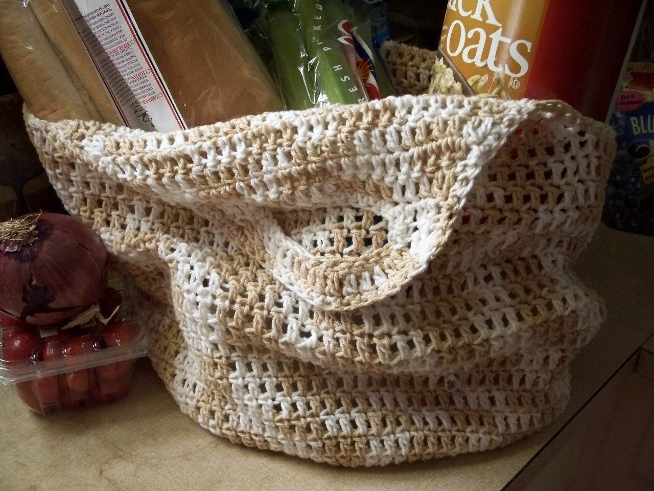 Crochet Market Tote Pattern : Unavailable Listing on Etsy