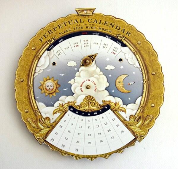 Magic Perpetual Calendar 2011 to 2030