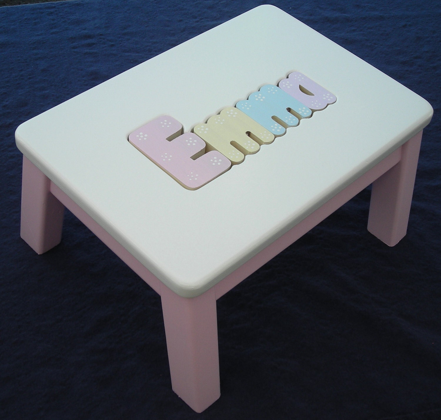 Wooden Personalized Wooden Name Puzzle Step By Dandlcraftsllc