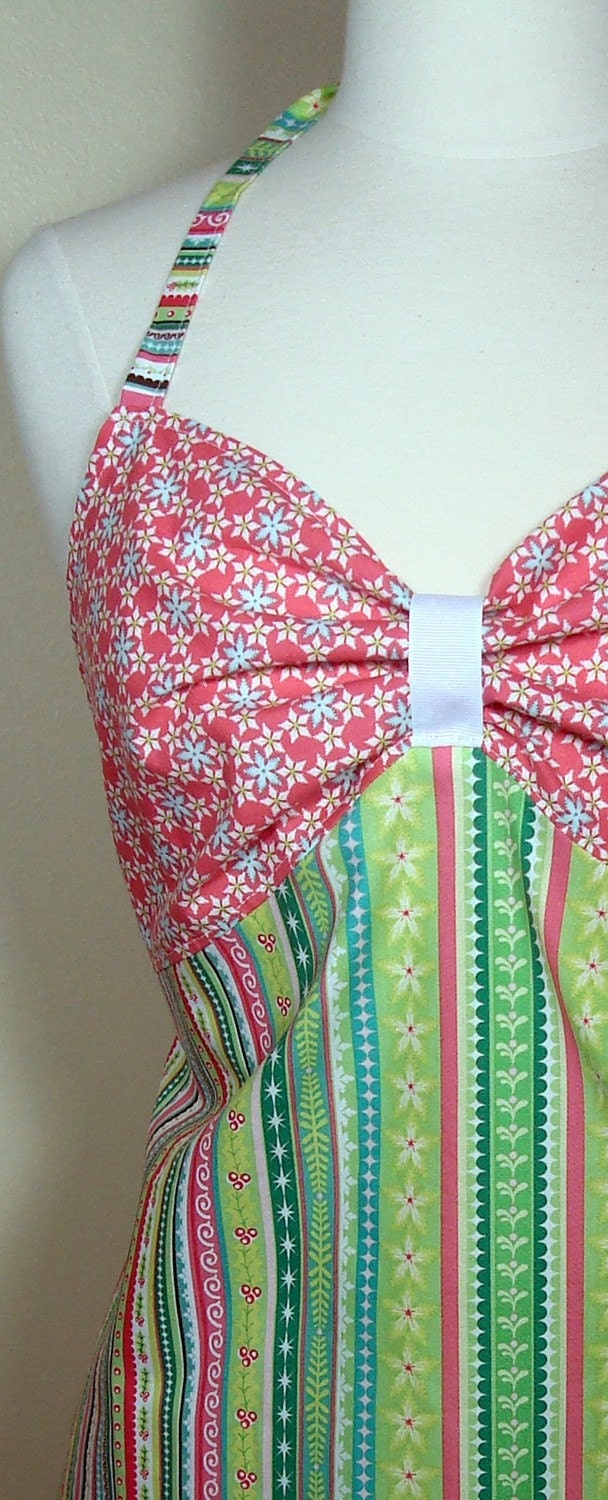 Flirty  Christmas Apron