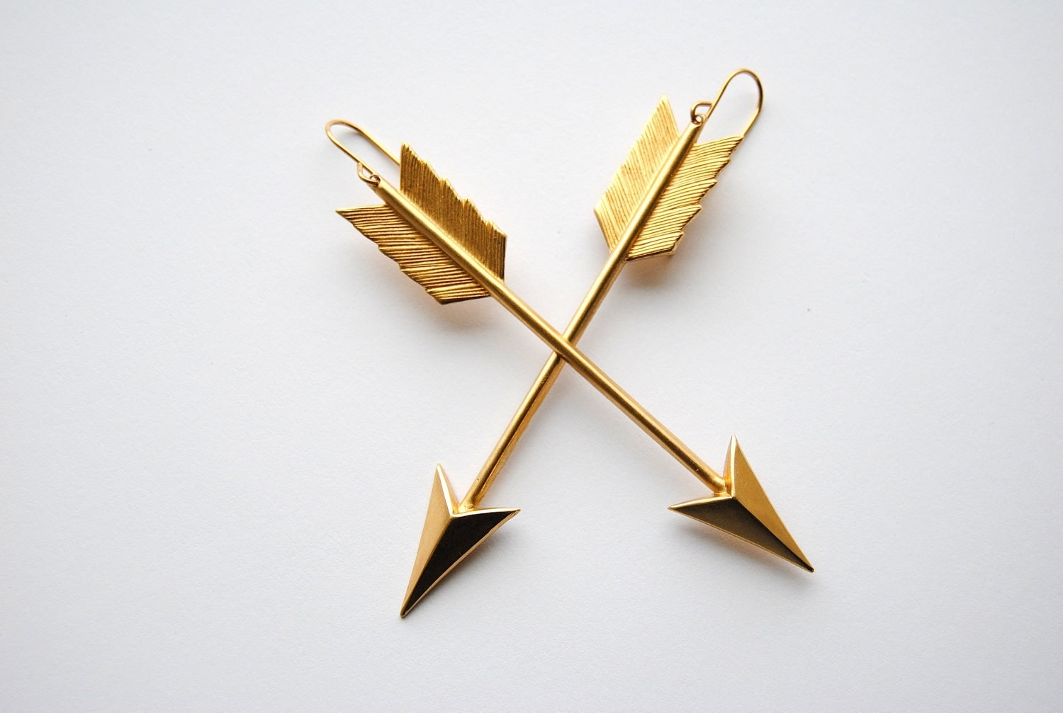 Arrow Earrings - Summer Fashion - Graduation - Hunger Games Jewelry - Free Shipping in the US
