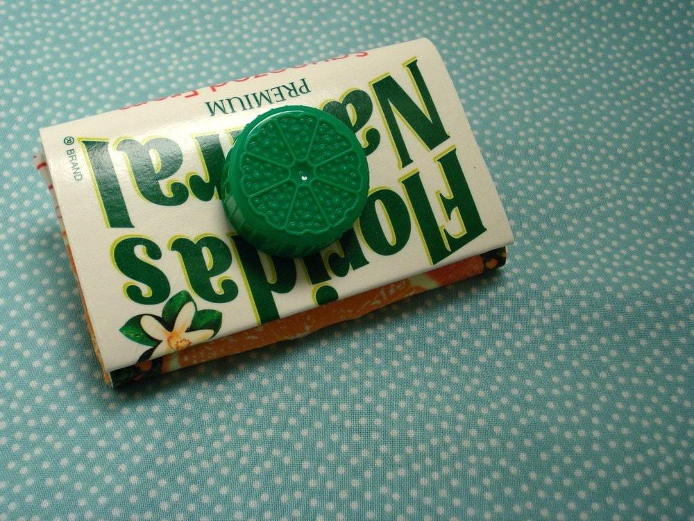 Juice Carton Coin Purse