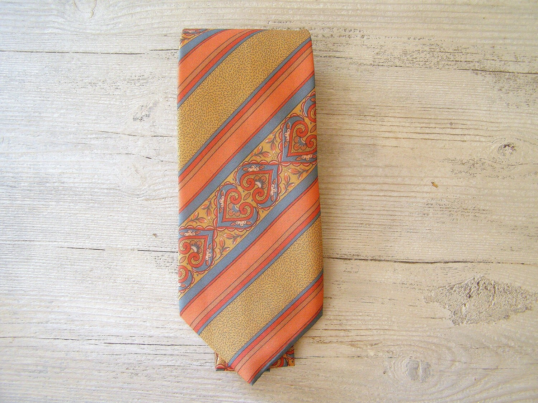 Italian Silk Tie, Vintage man Tie
