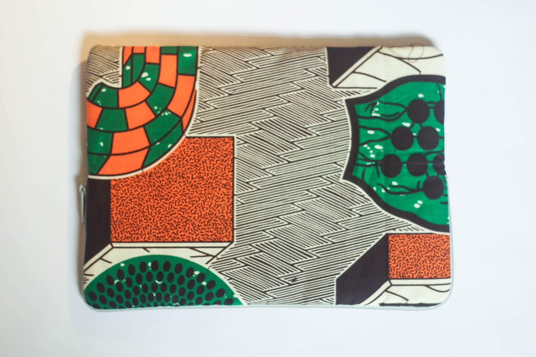 Museum  Ankara  African Print  MacBook Pro Sleeve  Laptop Sleeve  Laptop Case  Laptop Bag
