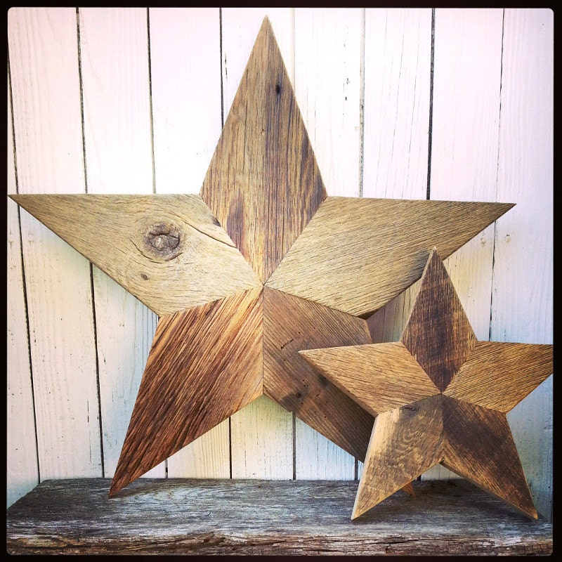 Unavailable listing on etsy for Barn star decorations home