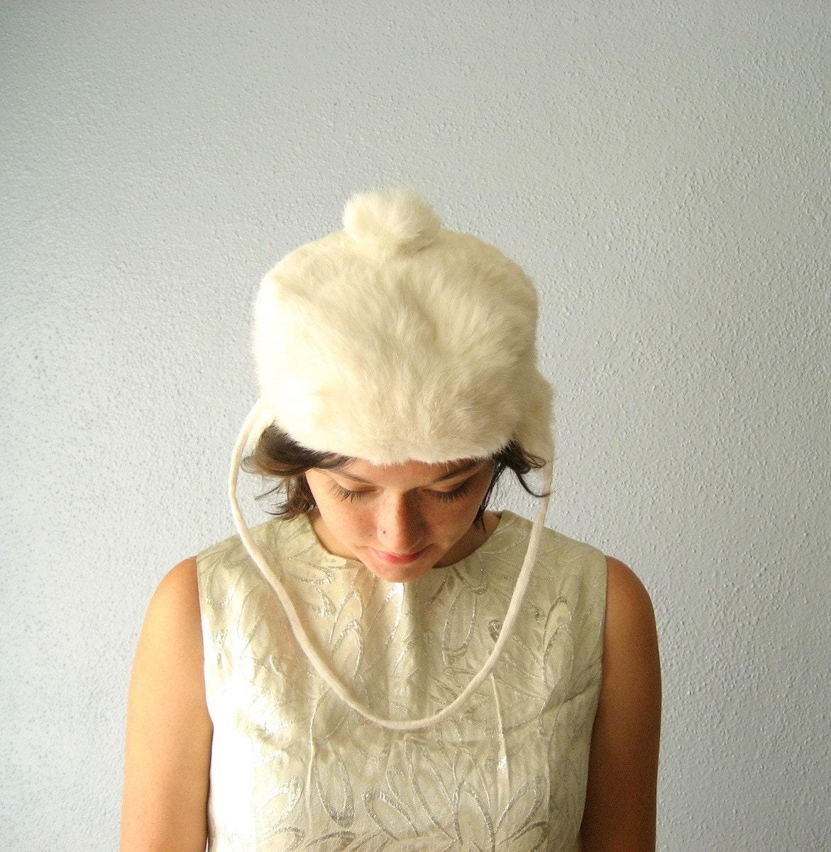 winter snowbunny hat