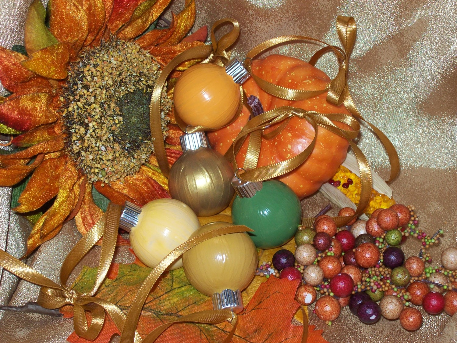 ... Decoration Ornaments Hanging or Centerpiece Dining Table Scape Set of