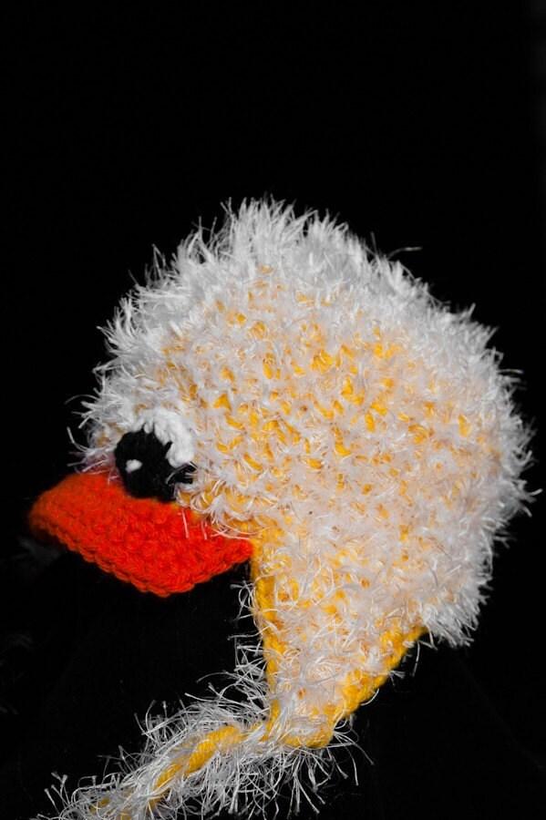 ABC Knitting Patterns - Fun Fur Crochet Vest.