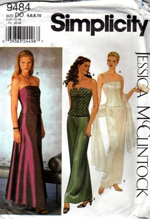 Gallery of Vintage Sewing - Patterns Gowns