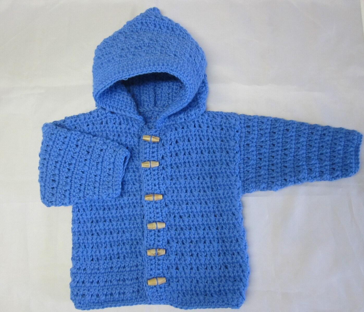 Baby Boy Sweater Crochet Pattern Bronze Cardigan