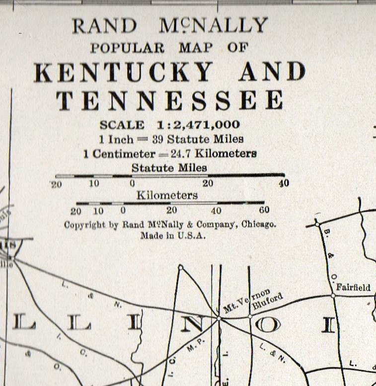 map of kentucky and tennessee. of Kentucky and Tennessee