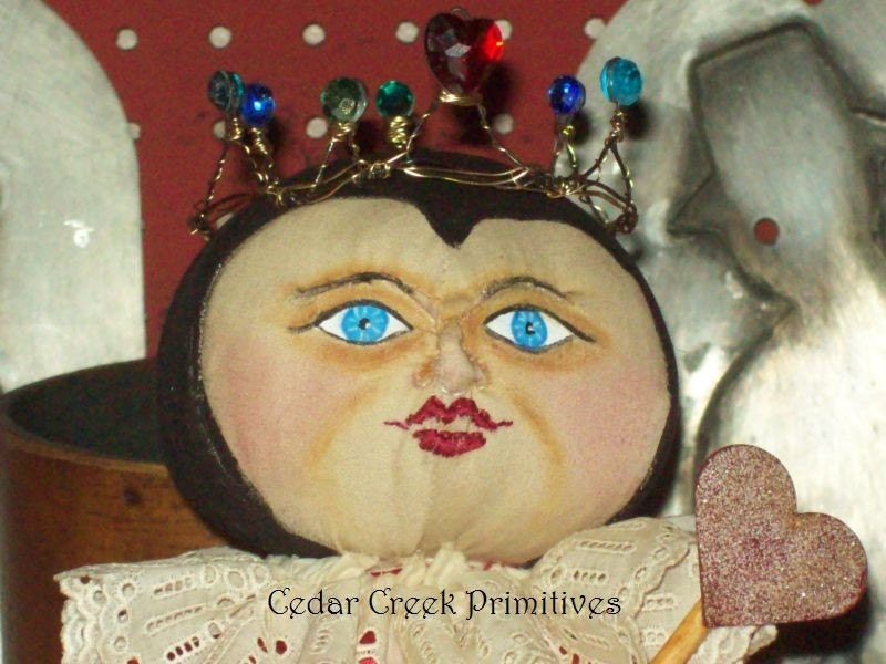 Queen of Hearts OOAK