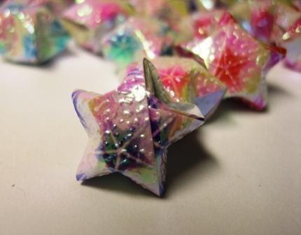 origami starfish 171 embroidery amp origami