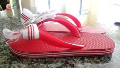 Cardinal Flip Flops