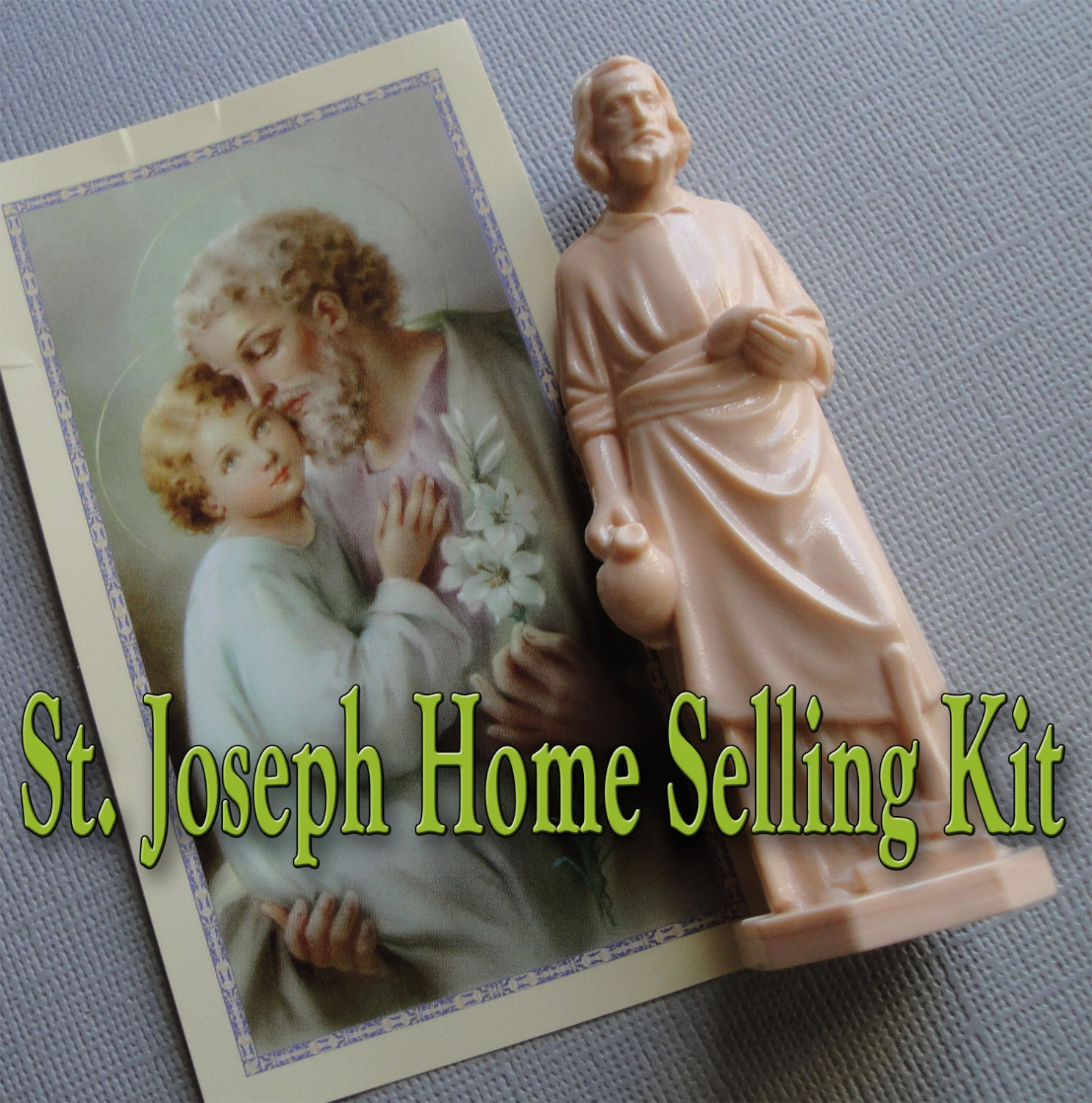 st joseph home selling kit trusted by by eyecandyantiques on etsy. Black Bedroom Furniture Sets. Home Design Ideas