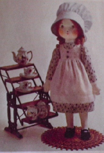 Vintage 1974 Holly Hobbie Doll Pattern And By Sewingparlor